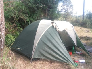 Tenda Camping Montana Pavillo X4 Double Layer