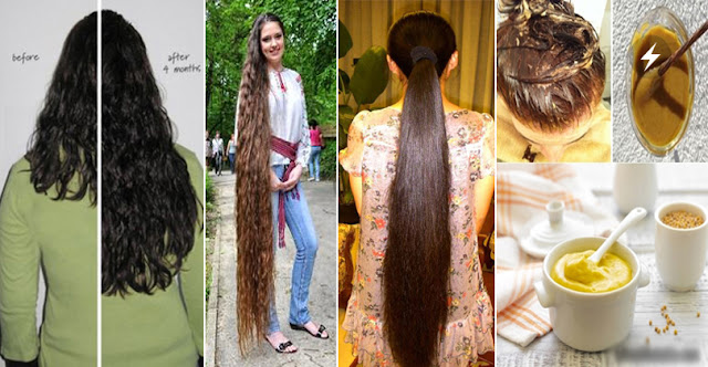 Your Hair Grow Longer And Faster By Using 3 Ingredients In A Week