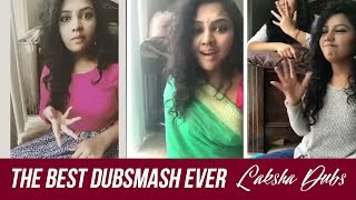 Tamil Cute girl Laksha Dubsmash collections