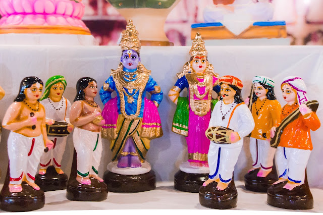 Dasara Doll display at Kesariya