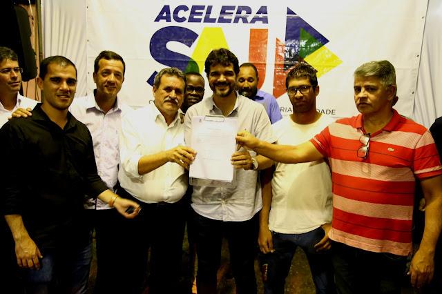 Programa Acelera SAJ beneficia com pavimentação mais cinco ruas na Maria Preta