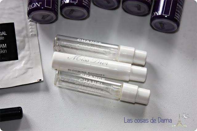 Productos terminados Chanel Dior