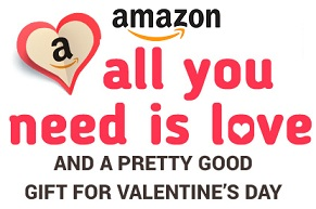 Valentine Gift Idea for Men's & Women's @ Amazon
