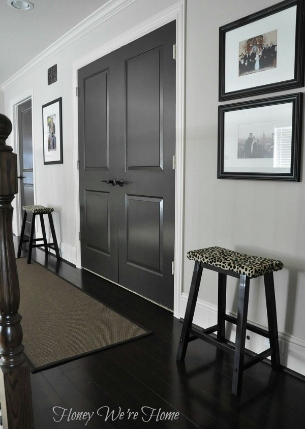 Honey We Re Home Leopard Print Stool Makeover