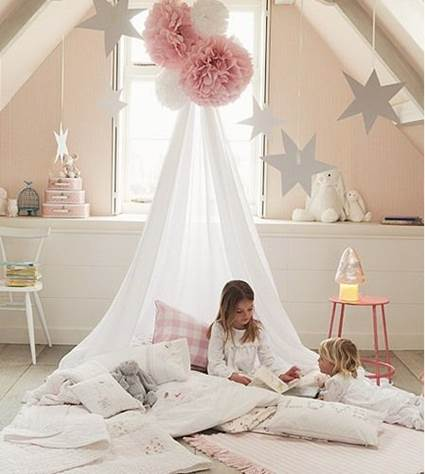 Unique Ideas for decorating little girls' bedrooms 6
