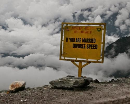 If you are married divorce speed