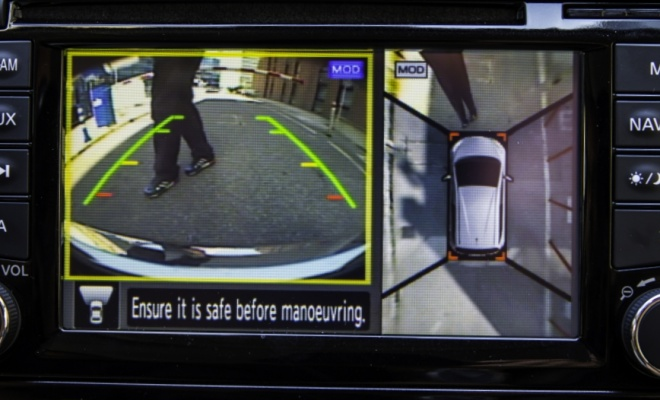 2014 Nissan Note camera view