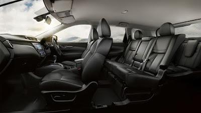 Interior Nissan X-Trail Mobil SUV Tangguh dan Sporty Terbaik