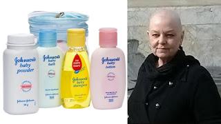 Borotalco Johnson causa cancro a Deborah Giannecchini che riceve 70 milioni
