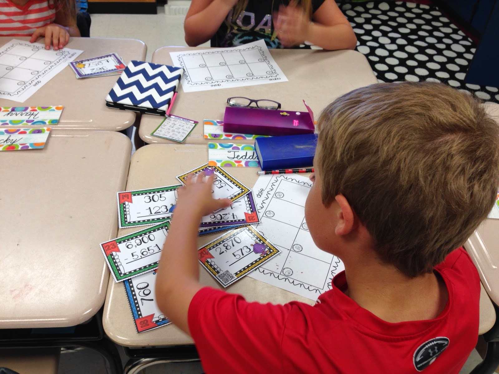 Mastering Multiplication With Qr Code Task Cards