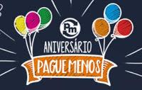 Participar promoção de Aniversário Supermercados Pague-Menos