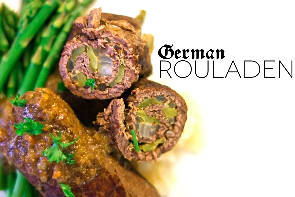 Paleo German Beef Rouladen