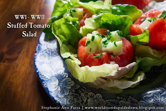 WWI WWII recipe Salad