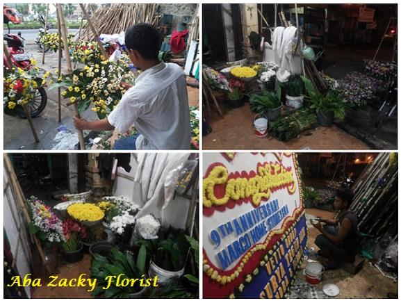 Toko Karangan Bunga papan Online Aba Zacky Florist