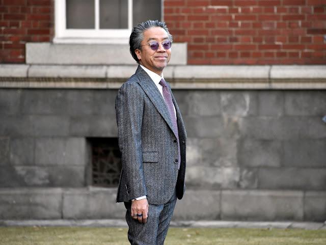 40代のスーツ スタイル