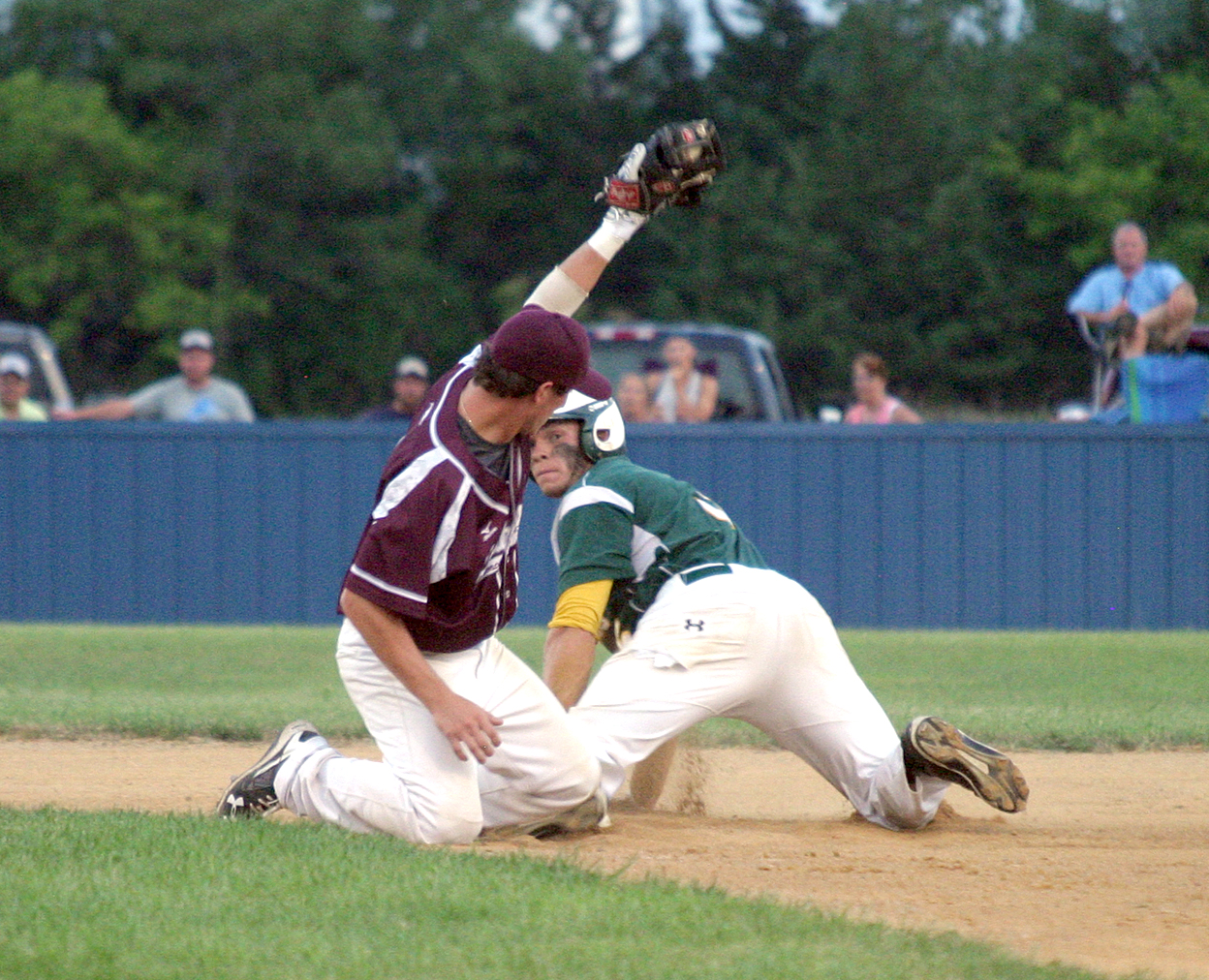 South dakota amateur baseball district score