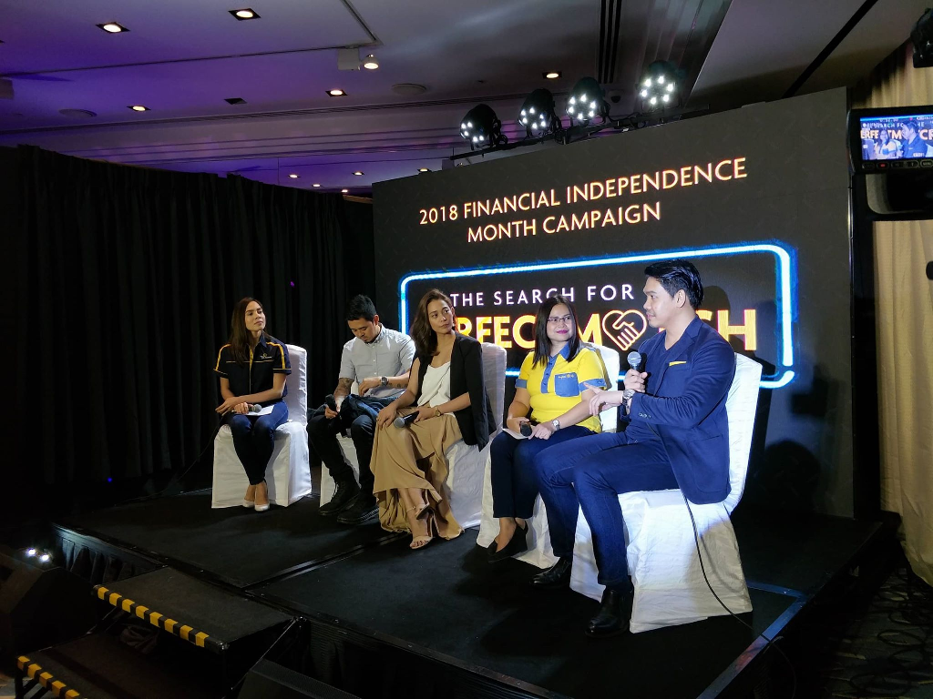un Life's #SunLifePerfectMatch campaign this Financial Independence Month of June