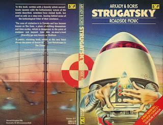 обложка книги братьев Стругацких - Пикник на обочине
