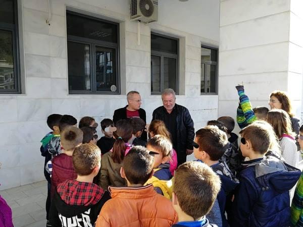 Ήγουμενίτσα: Επίσκεψη του Α' Δημοτικού Σχολείου στο Δημαρχείο Ηγουμενίτσας