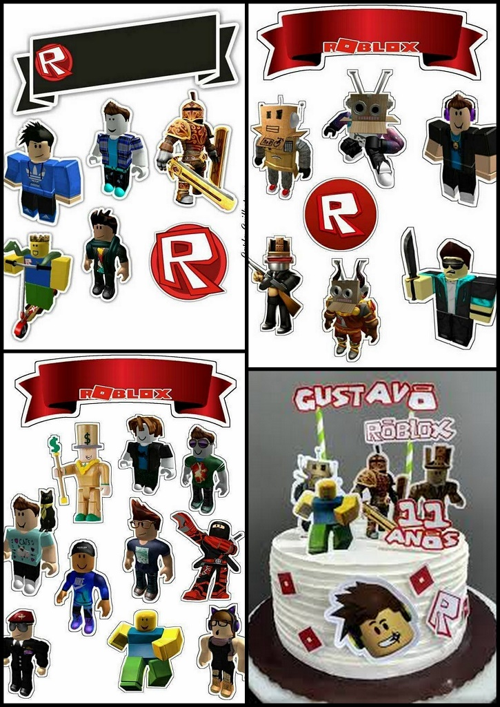 graphic relating to Roblox Picture Printable identified as Roblox Totally free Printable Cake Toppers. - Oh My Fiesta! for Geeks