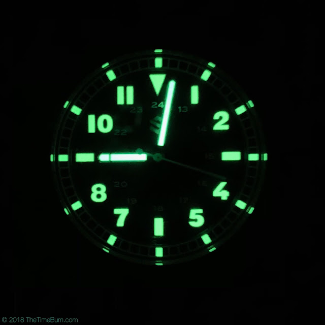 Seals Model C black lume