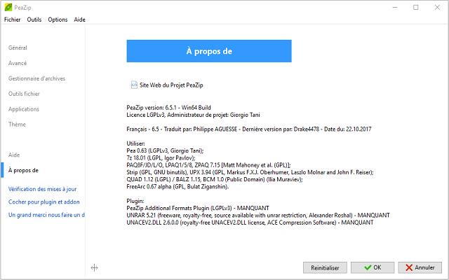 تحميل برنامج ضغط الملفات PeaZip 6.5.1 المجاني للويندوز
