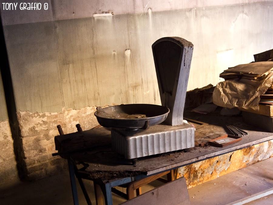 Bilancia per pesare lingotti d'argento