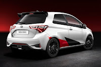 Toyota Yaris High Performance Prototype (2017) Rear Side