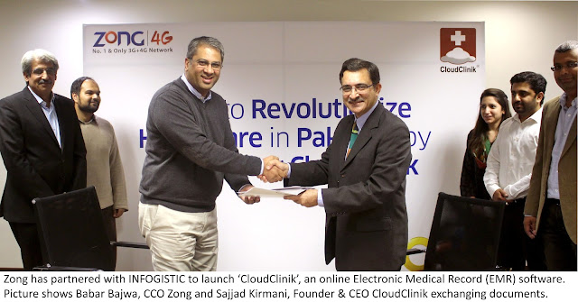 ZONG to Launch Smart Solution to Transform Health Sector in Pakistan