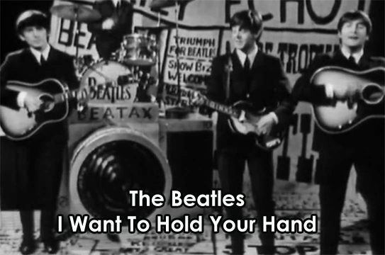 Lyrics, Chords and Video - I Want To Hold Your Hand - The Beatles ...