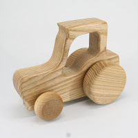TR01, Tractor I, Lotes Wooden Toys