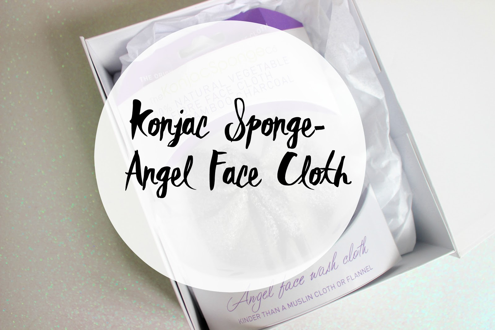 The Konjac Sponge- Angel Face Facial Cloth