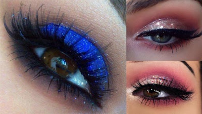 How To Apply Glitter Eye Makeup Tips