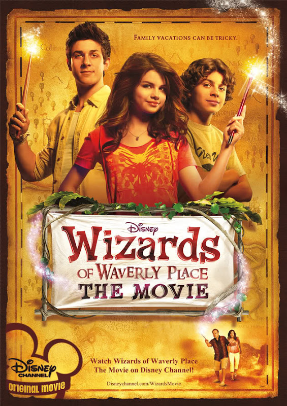 Wizards of Waverly Place movie poster
