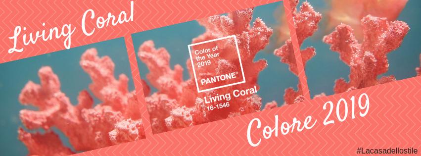 La casa dello stile: Living Coral: colore del 2019