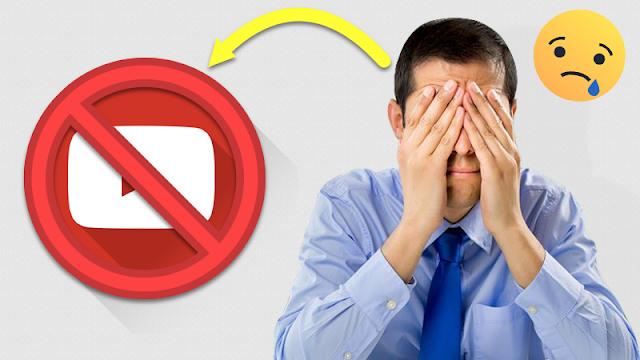 اسباب اغلاق قنوات اليوتيوب وحسابات الادسنس الجديده معآ