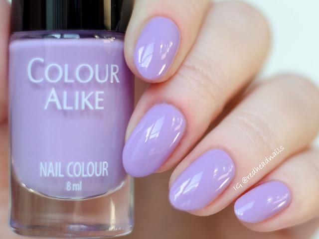 Colour Alike Pink Lavender alike swatch