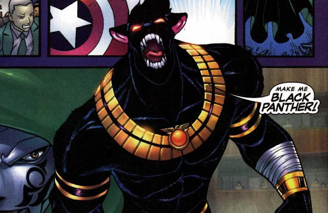 mangaverse black panther versi macam