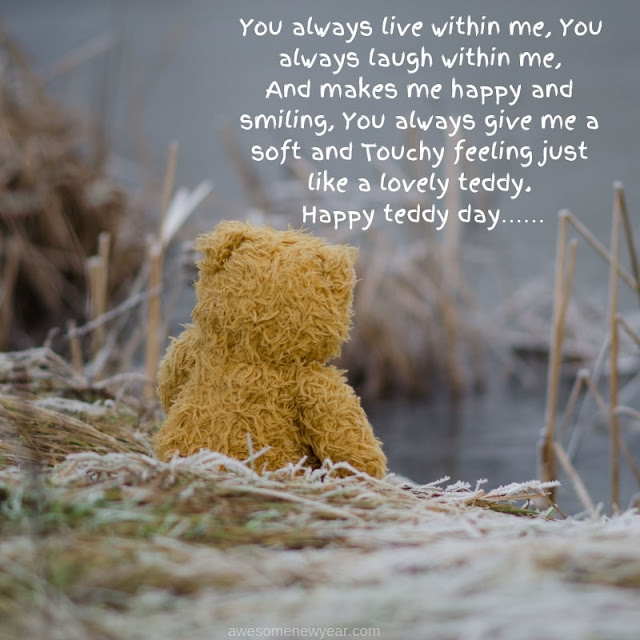 Happy #Teddy Day Quotes for hubby