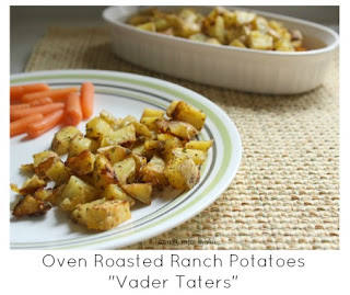 Oven Roasted Ranch Potatoes - Vader Taters