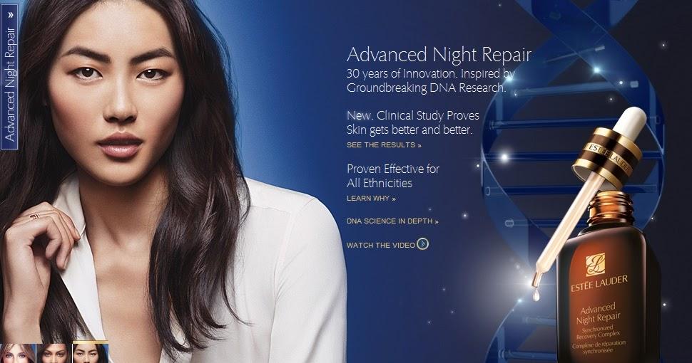 Estee Lauder Advanced Night Repair Photography