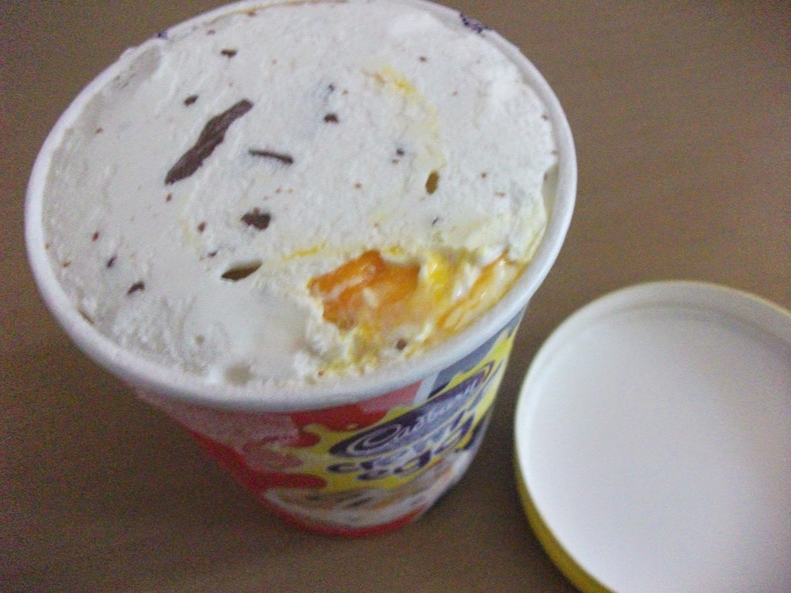 cadbury creme egg ice cream