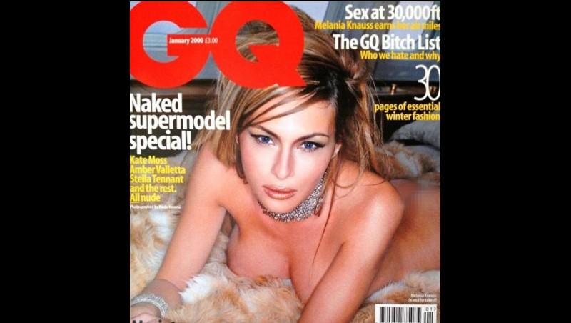 Milinea Trump bugil di cover majalah pria GQ Inggris