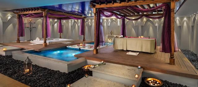 tempat spa paling mewah di dunia