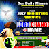 WATCH TODAY'S ODM ANOINTING SERVICE LIVE STREAMING