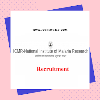ICMR-NIMR Walk-IN 2019 for SRF posts (2 Vacancies)