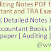 Complete Auditing Notes PDF file for RPSC JR Accountant and TRA Exam-2016