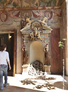Palácio Altemps, Museu de Roma, Loggia Renascentista com afrescos