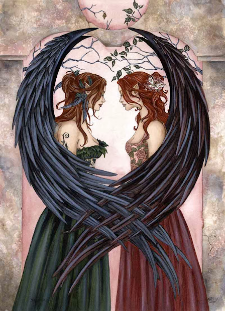Sisters by Amy Brown
