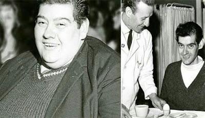 Pria obesitas gendut